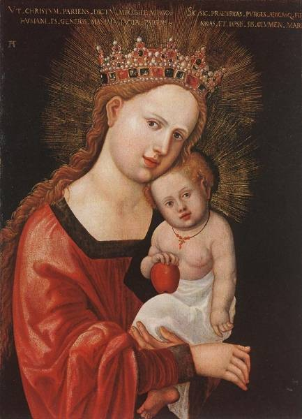 Mary With The Child